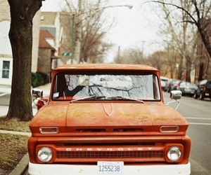 car, vintage, and truck image