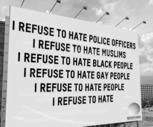 quotes, equality, and hate image