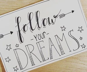 art, calligraphy, and dreams image