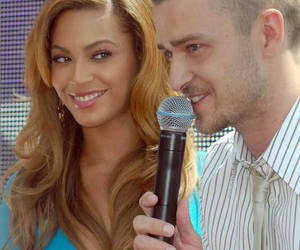 beyonce knowles, bey, and justin timberlake image