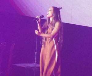 music, singer, and ariana image
