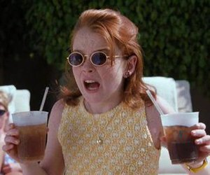 lindsay lohan, the parent trap, and 90s image