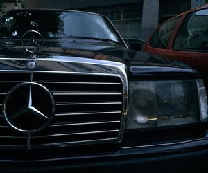 black, cars, and mercedes image