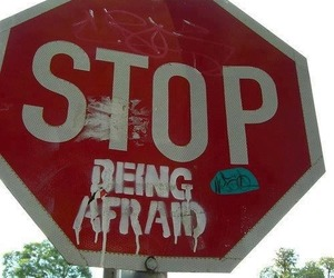 grunge, stop, and stop sign image