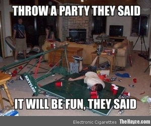 throw a party they said image