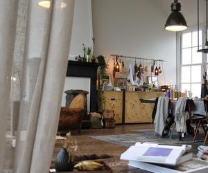 decor, interior, and vintage image
