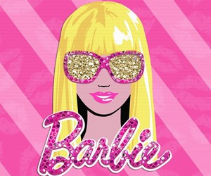 aesthetic, background, and barbie image