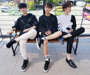 xiao, hwanhee, and up10tion image