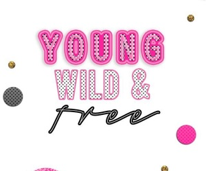 free, young, and pink image