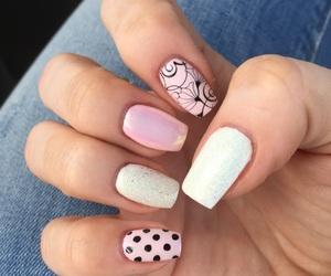 nails, pastell, and princess image