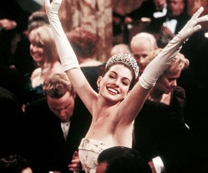 princess, Anne Hathaway, and the princess diaries image