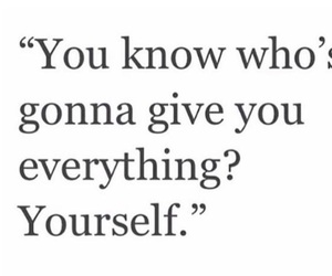 everything, yourself, and give image