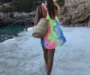 beach, chill, and colorfull image