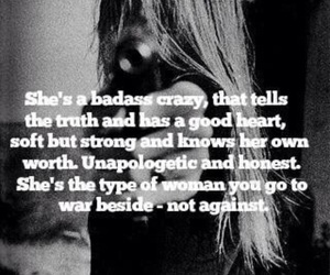 badass, strong, and love image