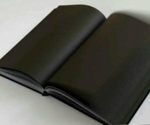 dark, tumblr, and black book image