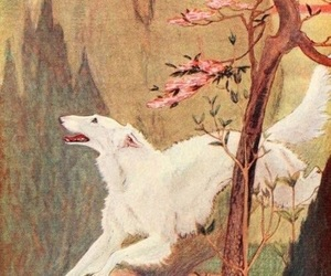 art and borzoi image