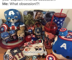 captain, captain america, and Marvel image