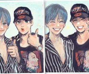 asian boy, fanart, and Jonghyun image