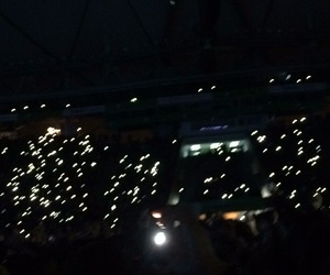 concert, light, and tumblr image