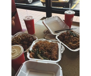 chinese, date, and dinner image