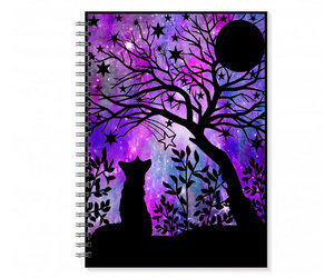 etsy, doodle notebook, and cute spiral notebook image