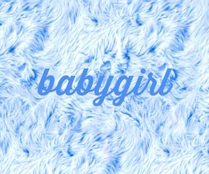 baby, blue, and quotes image