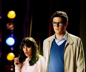 glee, lea michele, and cory monteith image