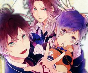 anime, diabolik lovers, and vampire image