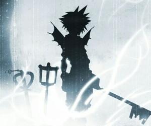 fan art, sora, and anime boy image