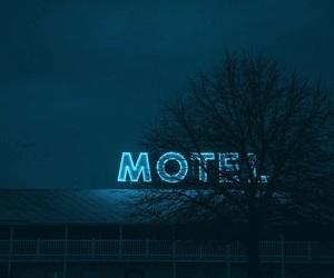 motel, blue, and grunge image