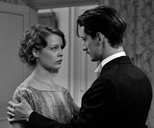 black and white, french, and movie image