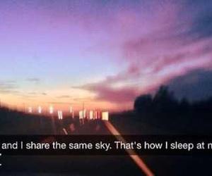 sky, love, and sleep image