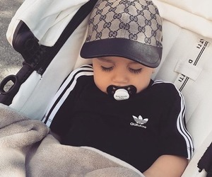 adidas, baby, and gucci image