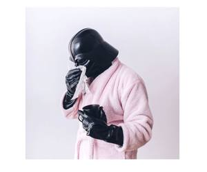darth vader, pink, and DarthVader image
