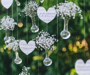 wedding, love, and decor image