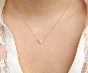 etsy, diamond necklace, and bridesmaid gift image
