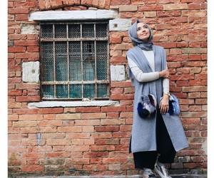cities, fashion, and hijab image