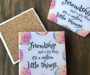 best friends, gift ideas, and coffee image