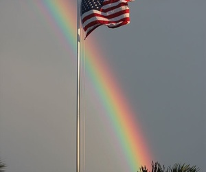 america, flag, and photography image