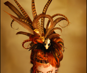 fascinator, fashion, and feathers image