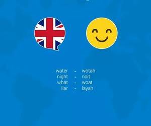 accent, american, and british image