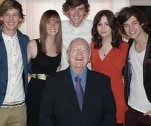 family and Harry Styles image