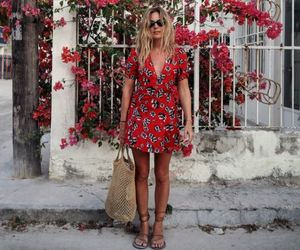 summer, fashion, and dress image