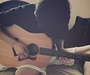 chanyeol, exo, and guitar image