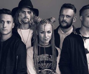 bands, tonight alive, and hair image