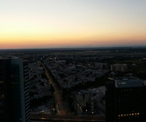 city, românia, and lights image