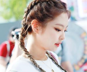 girl, pretty, and jennie kim image