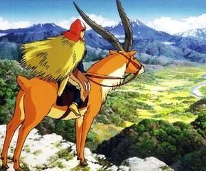 anime, princess, and princess mononoke image