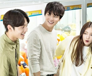 kdrama, yoon si yoon, and lee se young image