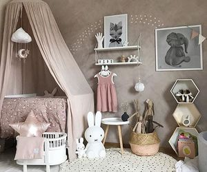 baby, baby room, and famaly image